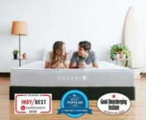 6ft Nectar Professionally Refurbished Smart Pressure Relieving Memory Foam Mattress|RRP £769|