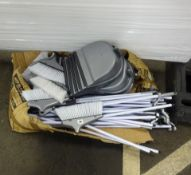 QTY OF DUSTPAN & BRUSHES