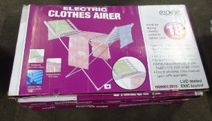X4 ELECTRIC CLOTHES AIRERS