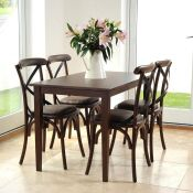 Horne Dining Set with 4 Chairs - RRP £649.99