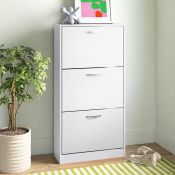 Vida 15 Pair Shoe Storage Cabinet - RRP £77.99