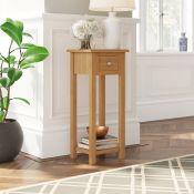 Hatcher Pedestal Telephone Table - RRP £93.99