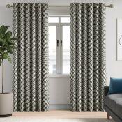 Terry Eyelet Room Darkening Curtains - RRP £130.00