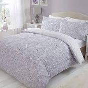 Scattered Sketch Floral Grey Bedding - RRP £20.50