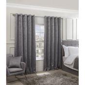 Vandyne Eyelet Room Darkening Thermal Curtain - RRP £47.99