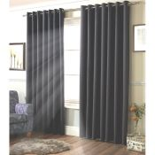 Strome Eyelet Room Darkening Thermal Curtains - RRP £61.99