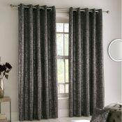 Vasquez Halo Eyelet Room Darkening Thermal Curtains - RRP £71.99