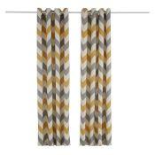 Trevino Eyelet Room Darkening Curtains - RRP £125.00