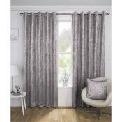 Desiree Eyelet Room Darkening Curtains - RRP £36.00