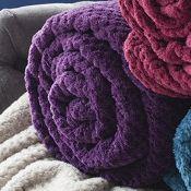 Ashley Blanket Plum - RRP £30.00
