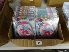 BOX OF 100 MY LITTLE PONY BALLOONS