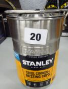STANLEY STEEL COOKING & NESTING CUPS