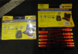 X2 11PC INSULATED SCREWDRIVER SETS