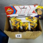 X5 OF 8 FIREMAN SAM BLOW OUTS