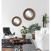 2 Piece Millstone Accent Mirror Set - RRP £176.99