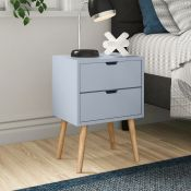 Lalani 2 Drawer Bedside Table - RRP £60.50