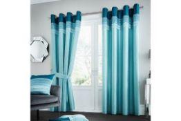 Geise Eyelet Room Darkening Curtains - RRP £44.54