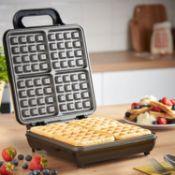 Von Shef Belgian Waffle Maker - RRP £44.99