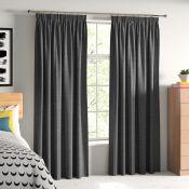 Juanita Pencil Pleat Room Darkening Curtains - RRP £59.80