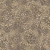 Steampunk Leopard 10m L x 53cm W Animal Print Roll Wallpaper x2 - RRP £37.99 Per Roll