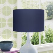 Cotton Drum Lamp Shade x2 - RRP £27.99 Per Shade
