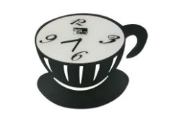 Cup Wall Clock - RRP £9.79