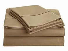 Duhon 800 Thread Count Satin Fitted Sheet - RRP £29.99