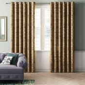 Stoumont Eyelet Room Darkening Curtains - RRP £115.99