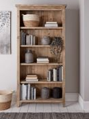 Damaged Provence Tall Bookcase - RRP £625.00 (back panel come away slightly)
