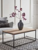 Oak Topped Coffee Table - RRP £295.00