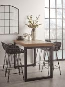 Loft Counter Height Dining Table - RRP £425.00