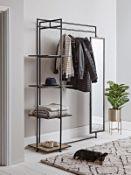 Wood & Metal Clothes Rail - RRP £550.00