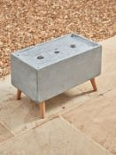 Standing Water Feature - Rectangular - RRP £175.00 (untested)