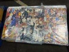 PALLET OF DOLL, CAT & BIRD DESIGN WRAPPING PAPER
