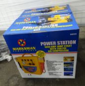 X3 BOXES OF POWER STATIONS, JUMP STARTS, AIR COMPRESSORS, ETC