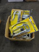 BOX OF PISTOL GRIP GREASE GUN SETS