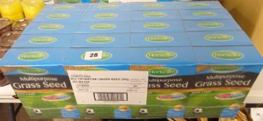 20 BOXES OF MULTI PURPOSE GRASS SEED