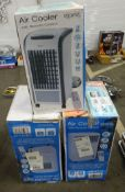 X3 AIR COOLERS WITH REMOTE CONTROLLS