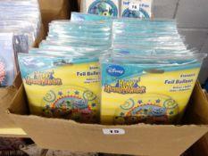 BOX OF 100 DISNEY HENRY HUGGLEMONSTER FOIL BALLOONS