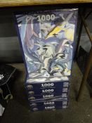 X6 NEW 1000PC DOLPHIN PUZZLES