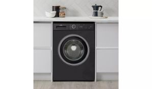 New World NWDHT714W 7KG 1400 Spin Washing Machine - Black - ARGOS RRP £239.99