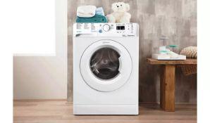 Indesit BWA81484XWUK 8KG 1400 Spin Washing Machine - White - ARGOS RRP £239.99