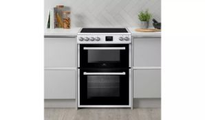New World NWLS60DEW 60cm Double Oven Electric Cooker - White - ARGOS RRP £349.99