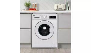 Bush WMNB812EW 8KG 1200 Spin Washing Machine - White - ARGOS RRP £209.99