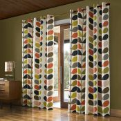 Multi Stem Eyelet Room Darkening Curtains - RRP £64.00