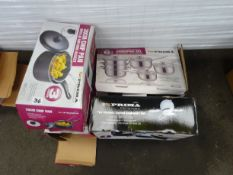 X2 COOKWARE SETS & X3 20CM CHIP PANS