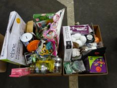 X2 BOXES OF KIDS TOYS, KITCHENWARE & ODDS