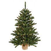 Anoka 2ft Green Pine Artificial Christmas Tree with 35 Lights - RRP £36.91