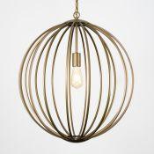 Akash 1-Light Globe Pendant - RRP £162.24