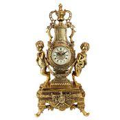 Grande Château Beaumont Mantel Clock - RRP £145.00